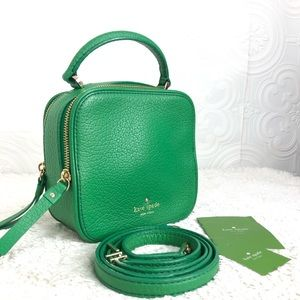 🌸OFFERS?🌸Kate Spade Leather Green Crossbody